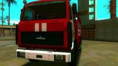 MAZ 533702 AC-2, 5-40 for GTA San Andreas