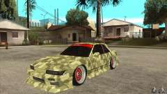 Nissan Silvia S13 Army Drift for GTA San Andreas