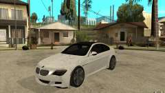 BMW M6 Coupe V 2010 for GTA San Andreas