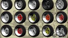 Old School Rims Pack for GTA San Andreas