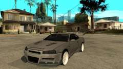 Nissan Skyline R 34 Need For Speed Carbon for GTA San Andreas