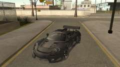 Porsche Carrera GT silver for GTA San Andreas