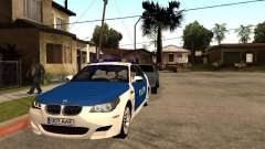 BMW 5-er Police for GTA San Andreas