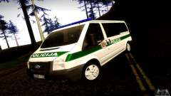 Ford Transit Policija for GTA San Andreas