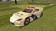 Lexus LF-A China Police