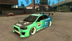 Mitsubishi Evo X Falken for GTA San Andreas