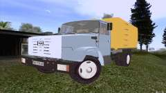 ZIL 4331 garbage truck for GTA San Andreas