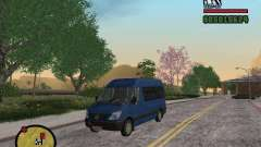 Mercedes-Benz Sprinter 2500 High Roof Passenger for GTA San Andreas