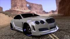 Bentley Continental GT Premier 2008 V2.0 for GTA San Andreas