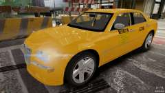Chrysler 300c 3.5L TAXI FINAL for GTA 4