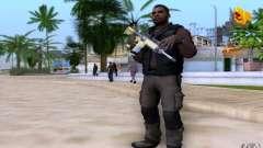 Salazar in the civil for GTA San Andreas