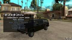 ELM v9 for GTA SA (Emergency Light Mod) for GTA San Andreas