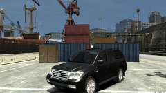 Toyota Land Cruiser 200 for GTA 4