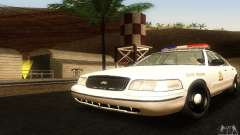 Ford Crown Victoria Utah Police for GTA San Andreas