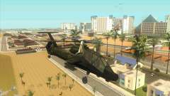 Sikorsky RAH-66 Comanche stealth green for GTA San Andreas