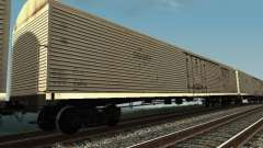 Insulated wagon HST for GTA San Andreas