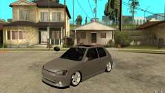 Peugeot 106 Reptile for GTA San Andreas