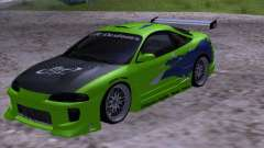 Mitsubishi Eclipse 1998 - FnF for GTA San Andreas