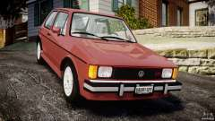 Volkswagen Rabbit 1986 for GTA 4