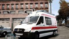 Mercedes Sprinter Turkish Ambulance