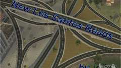 New roads of Los Santos for GTA San Andreas