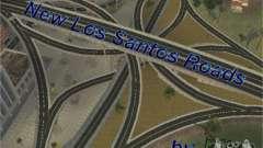 New roads of Los Santos