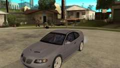 2005 Pontiac GTO for GTA San Andreas