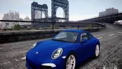Porsche 911 Carrera S 2012 for GTA 4