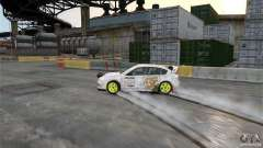 Subaru Impreza WRX STI Rallycross DC Gold Vinyl for GTA 4