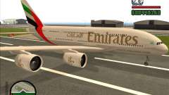 Boeing Emirates Airlines for GTA San Andreas