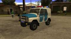 UAZ 31519 Police for GTA San Andreas