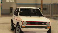 Volkwagen Golf MK1 Stock for GTA San Andreas