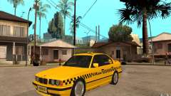 BMW 525tds E34 Taxi for GTA San Andreas