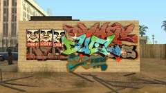 Los Santos City graffiti legends v1