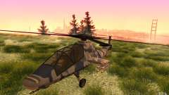 Sikorsky RAH-66 Comanche Camo for GTA San Andreas