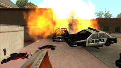 The CLEO script: machine gun in GTA San Andreas