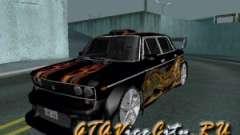 VAZ 2106 GTX tune for GTA San Andreas
