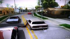 Pedestrians cling to auto for GTA San Andreas