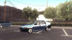 Fiat Siena 1998 silver for GTA San Andreas
