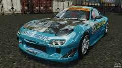 Mazda RX-7 RE-Amemiya v2 for GTA 4