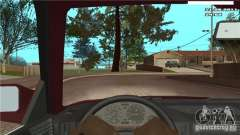 First person camera in the car for GTA San Andreas