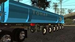 Twelve-wheel semi-trailer-tipper TONAR 95231