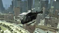 Black U.S. ARMY Helicopter v0.2 for GTA 4
