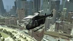 Black U.S. ARMY Helicopter v0.2