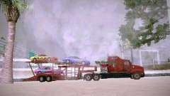 Auto Transporter Trailer