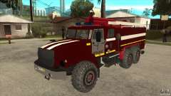Ural 43206 firefighter