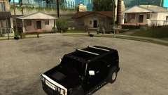 AMG H2 HUMMER SUV FBI