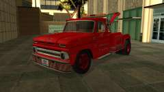 Chevrolet C20 Towtruck 1966 for GTA San Andreas
