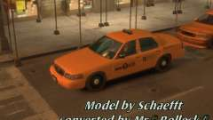 Ford Crown Victoria Taxi for GTA 4