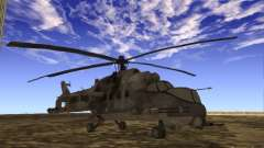 Mi-24 of COD MW 2 for GTA San Andreas